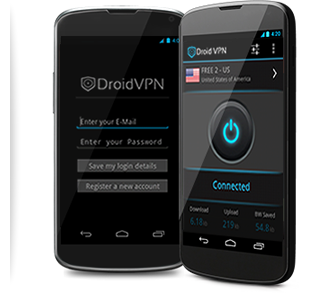 SHow Features of DroidVPN